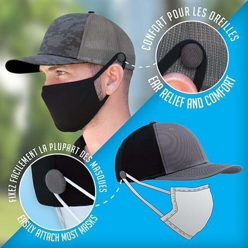 Cap Face Mask Attachment